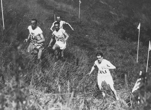 vintagesportspictures: Individual cross country race at the…