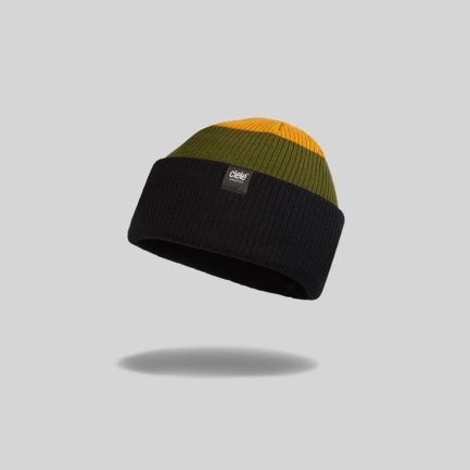 "Green ""Wallace Lake"" Merino CRW Run Beanie"