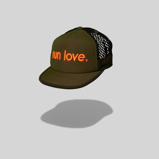 "Green ""Thompson"" Run Love Breathable run TRLCap"
