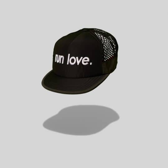 "Black ""Whitaker"" Run Love Breathable run TRLCap"